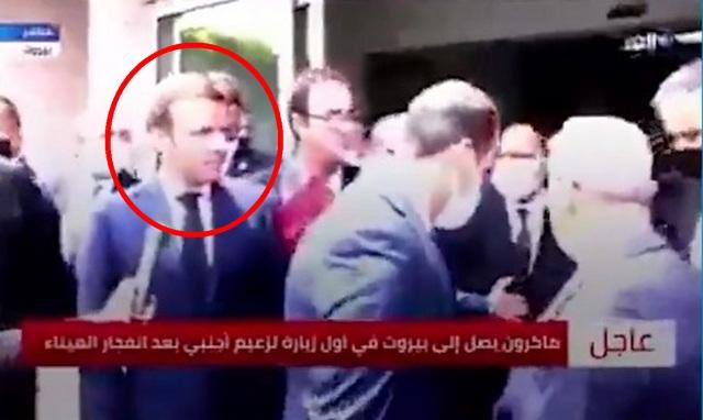 Presiden Prancis Perlakukan Presiden Lebanon Seperti Jajahannya, Disuruh Pergi Saat Jumpa Pers