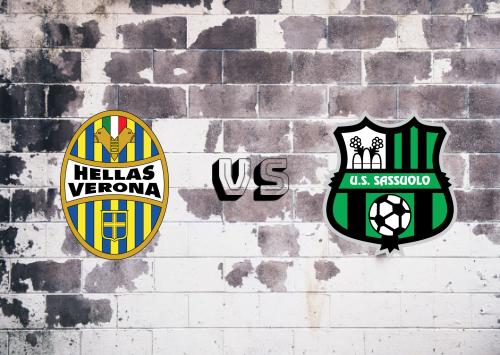 Hellas Verona vs Sassuolo  Resumen