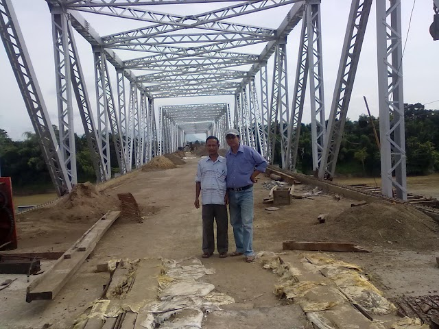 The fourth Bridge (261.04m) over Barak River at Fulertal, Lakhipur will inaugurate on 19 November 2011.