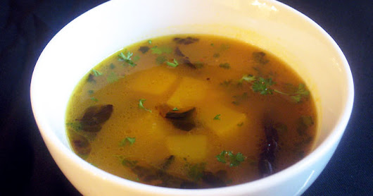 Golden Pumpkin Toor Dal Soup