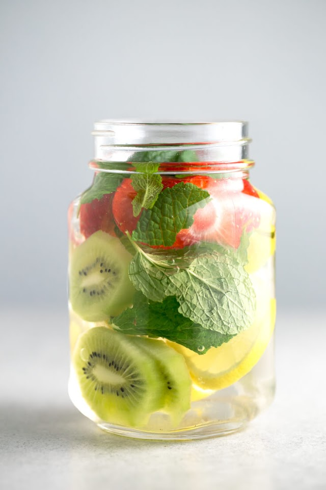 Water With Fruits Recipe