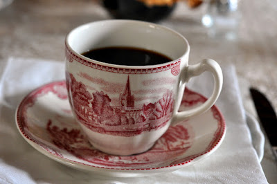 Fresh Coffee in the Breakfast Room at Borgo Argenina - Gaiole in Chianti, Italy | Taste As You Go