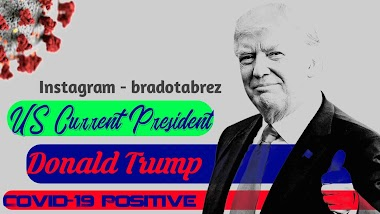 Current President of US Donald Trump Corona Positive