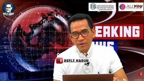 Refly Harun: Terang-terang Saya Tidak Percaya Kalau Munarman Itu Teroris