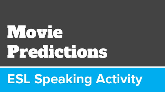 Reading , Comprehension, Vocabulary, and Writing - movie activity