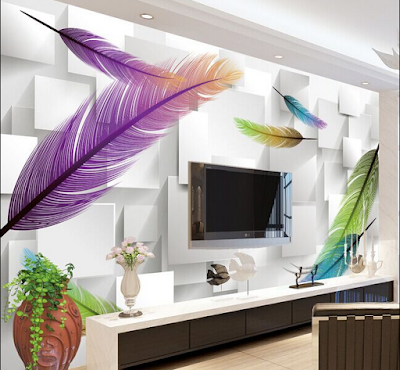 amazing 3D wallpaper for living room walls 3D wall murals images designs