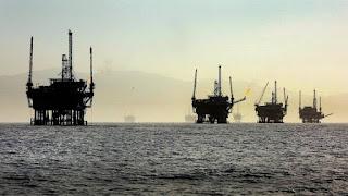 oil rigs, Santa Barbara