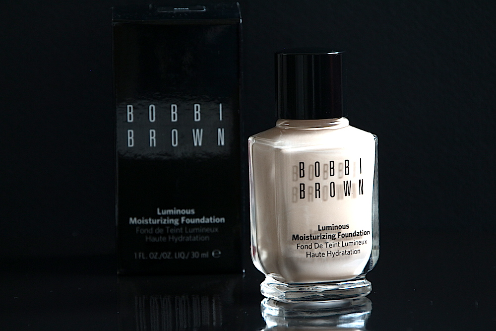 bobbi brown moisturizing luminous tratment foundation fond de teint avis test