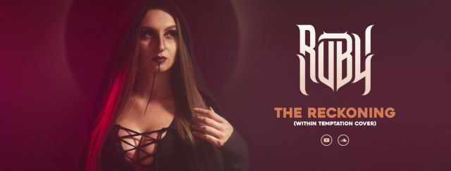"RUBY BOUZIOTI: Video για την νέα της διασκευή στο ""The Reckoning"" των Within Temptation"