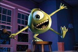 Mike Wazowski dans Monstres et Compagnie, des studios Pixar