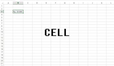 Cell di Microsoft Excel