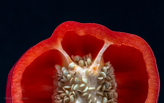 Canon EOS 70D / EF 100mm Macro Lens: Close-Up / Red Pepper