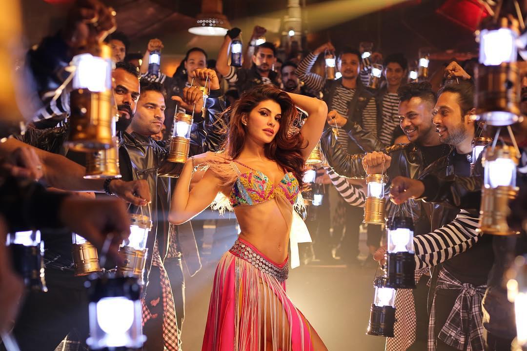 Jacqueline Fernandez in baghi 2 dancing pic