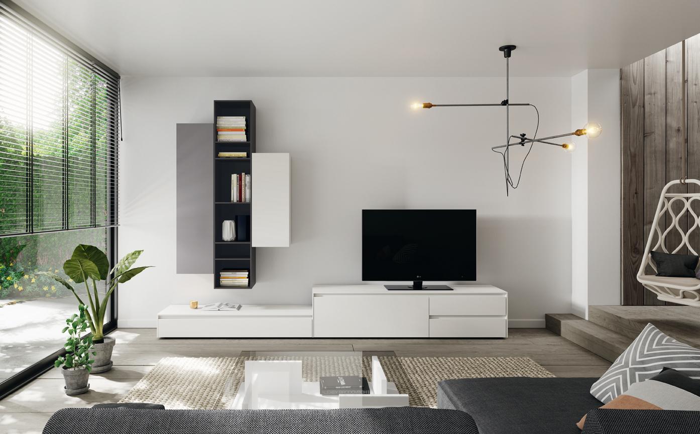 Pomysły na kącik z telewizorem