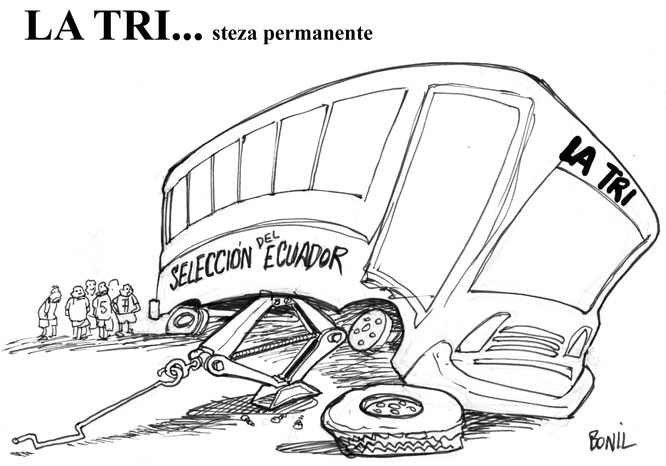 Caricatura de Bonil