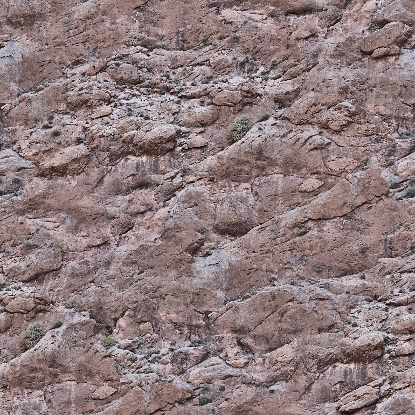 HIGH RESOLUTION TEXTURES: Seamless rock mountain face texture