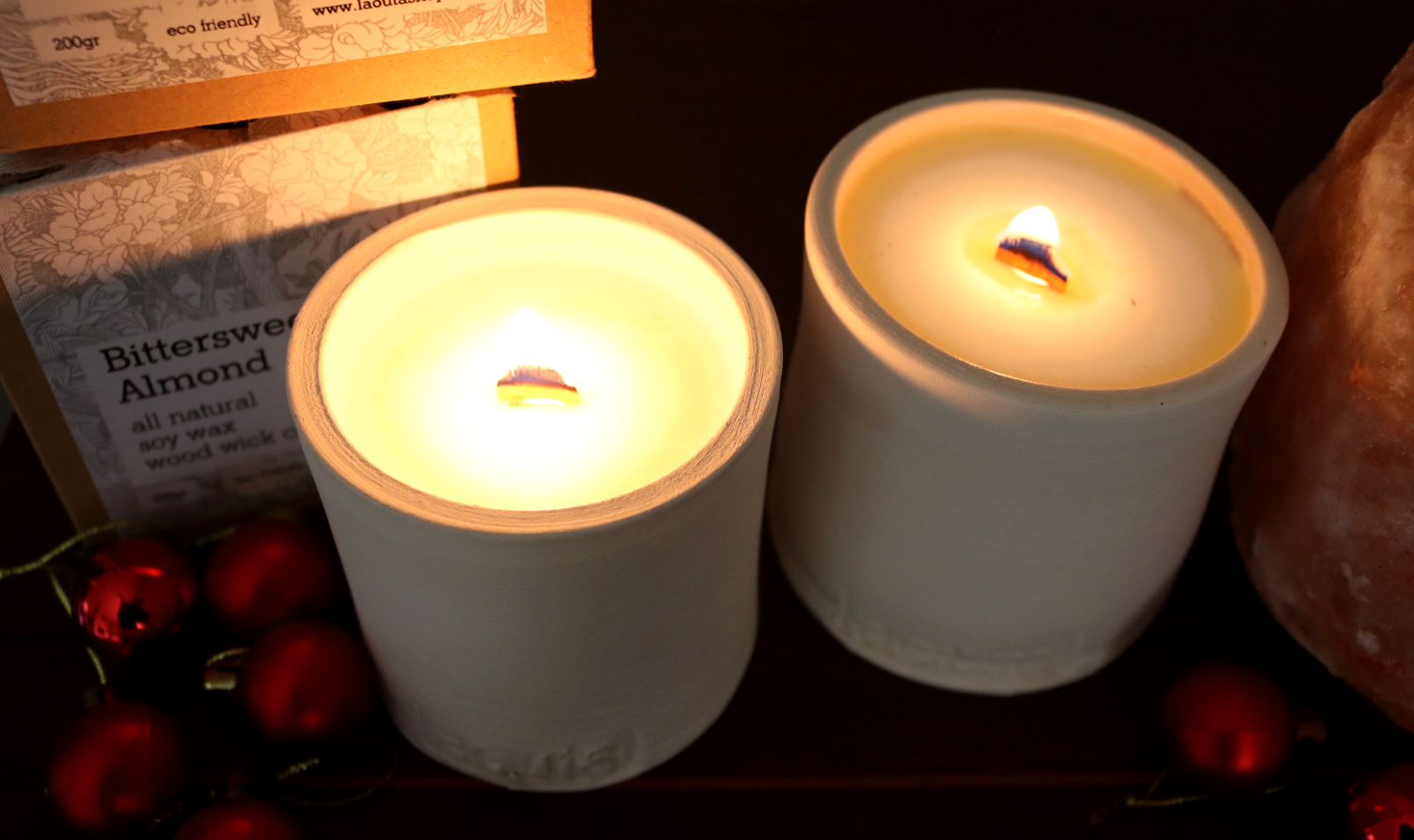 Christmas Gift Guide: Laouta Luxury All Natural Soy Wax Wood Wick Candles review