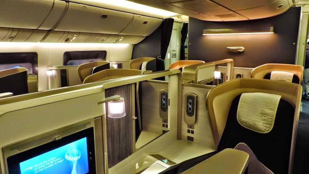 Review British Airways B777 First Class Atlanta London