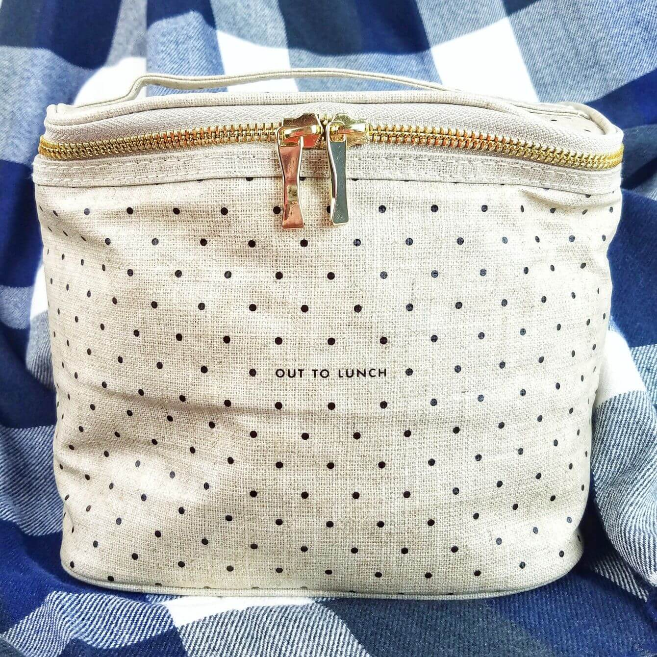 Check out My Very First Fab Fit Fun Seasonal Subscription Box for Fall - 2019 Kate Spade Lunch Bag