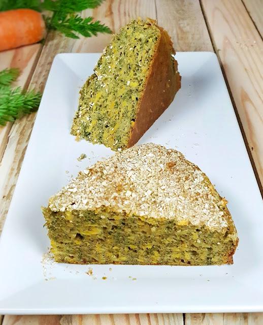 cake salé aux fanes de carottes #antigaspi