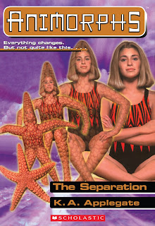 A girl (Rachel) turns into a starfish