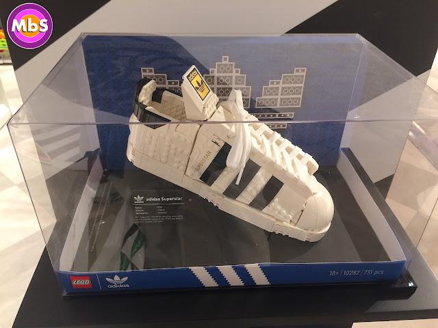 Adidas Superstar de Lego
