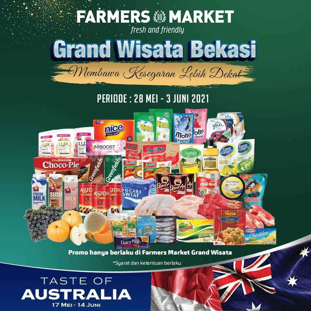 Promo Farmers Market Grand Wisata Bekasi Opening