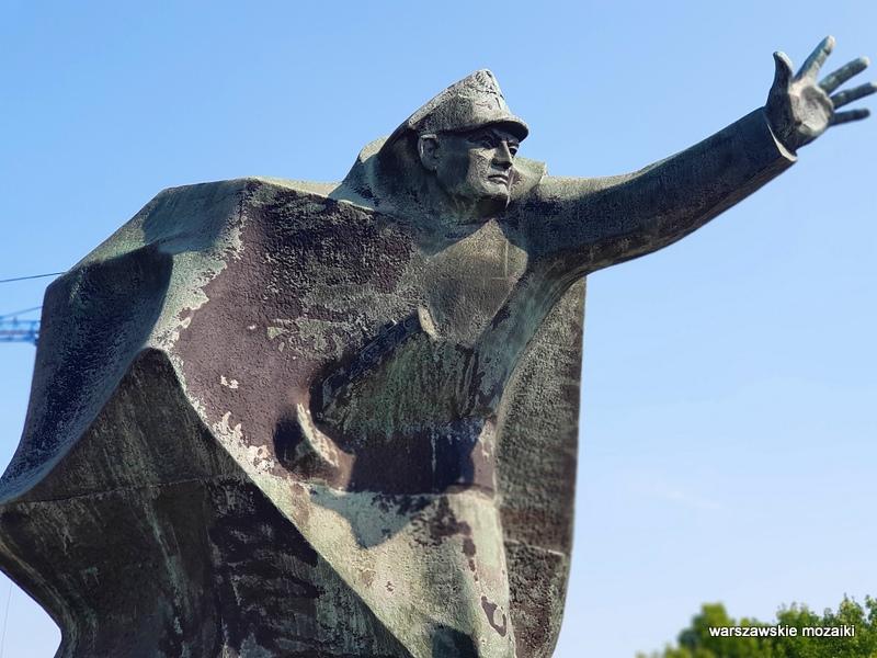 Warszawa Warsaw Praga Północ Andrzej Kasten pomnik rzeźba