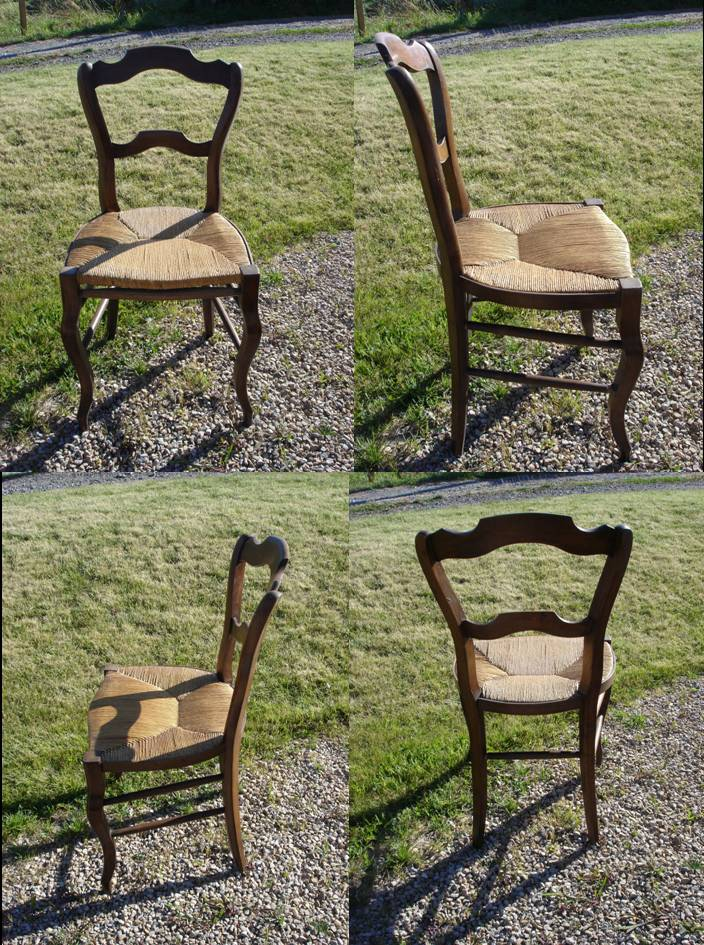 dressing grenier chaise en paille. Black Bedroom Furniture Sets. Home Design Ideas