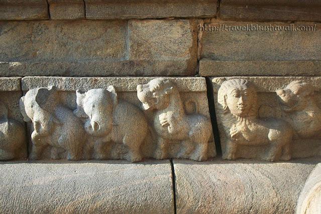 Samanar Kudagu Pudukottai Temples Sculptures Narthamalai
