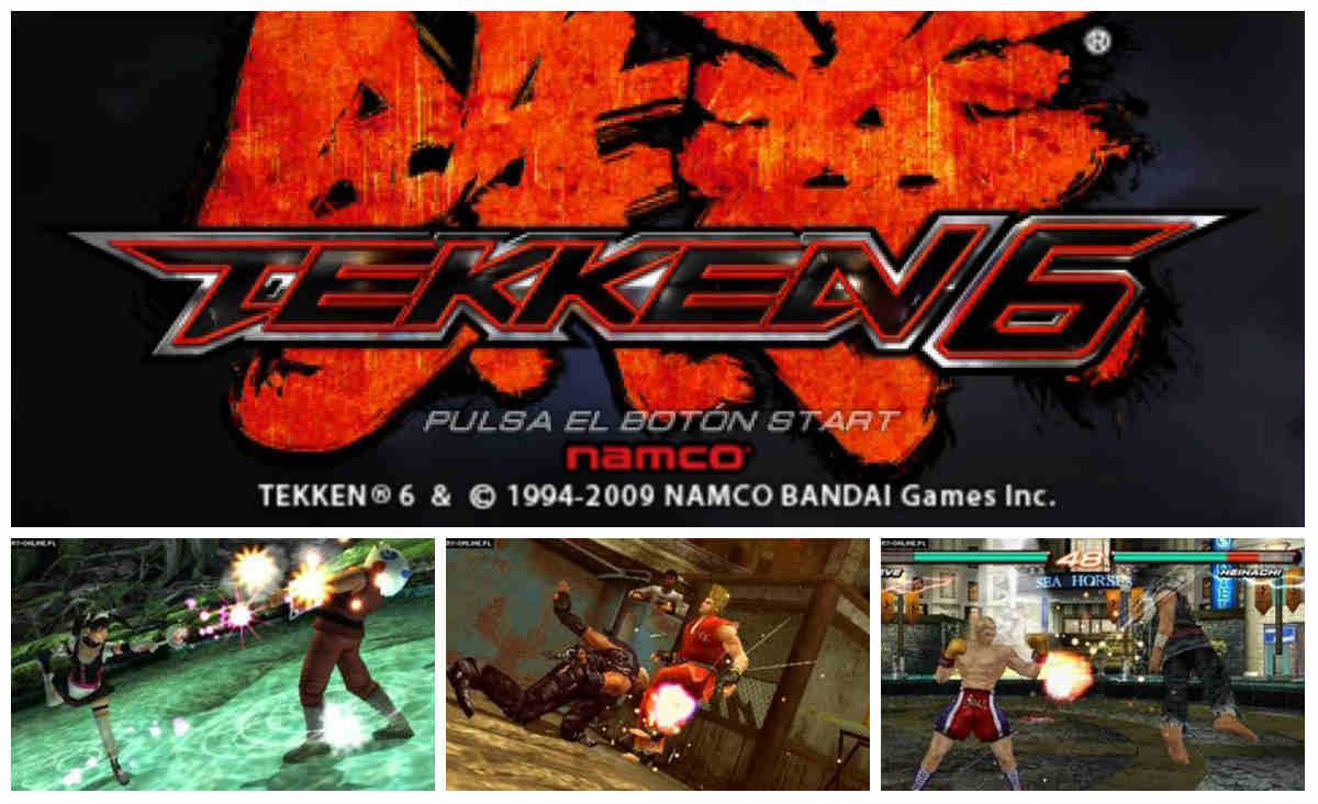Tekken 6 PSP Español