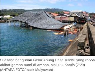 Gempa 6,8 SR Guncang Maluku, 20 Orang Tewas