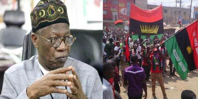 You Have Disrespected Us' – Lai Mohammed To The UK After They Granted Asylum To IPOB, MASSOB Members