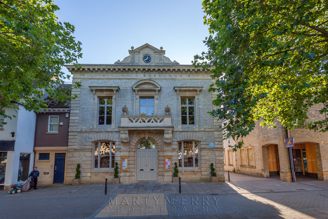 Witney town hall on the Market Square by Martyn Ferry Photography