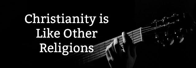 Sampson's claim that Sampson's claim addressed: Christianity is like every other religion #MartySampson #TrendyApostasy