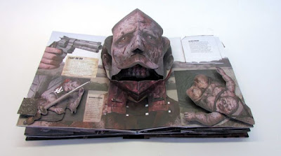 The Walking Dead Pop Up Book - Great Detail