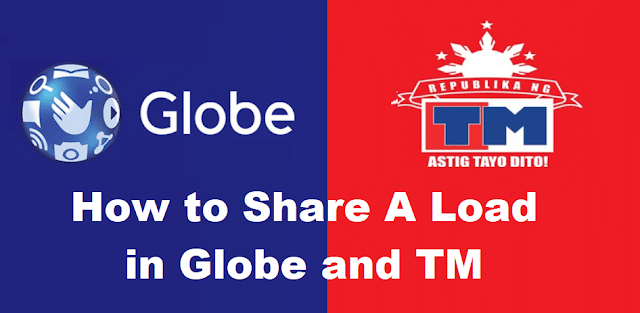 Share A Load in Globe and TM