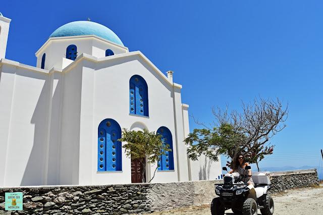 Iglesia Sain George, isla de Folegandros (Grecia)