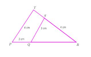 Menghitung panjang sisi segitiga yang kongruen