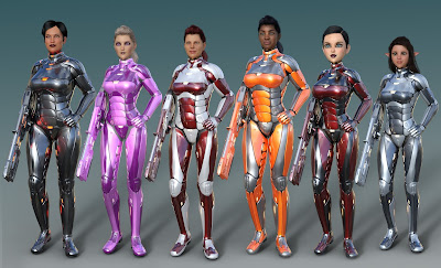 Leviathan Suit for Genesis 8 Female