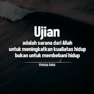 kata bijak islam tentang sabar menerima ujian