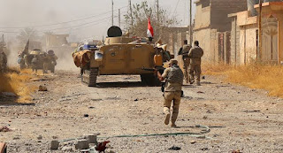 Daesh militants attacked forces in Iraq  killing six
