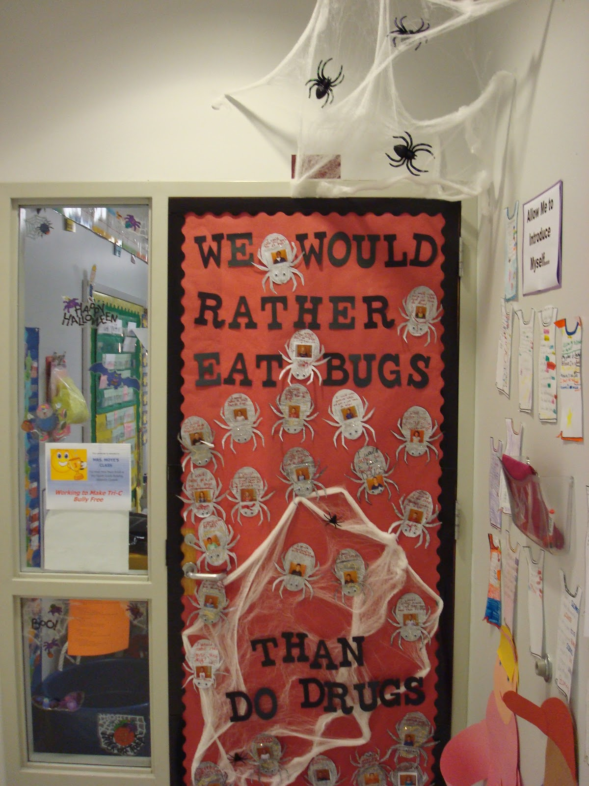 Classroom Decoration Ideas For Grade 2 ~ Mrs moye s class door contest for red ribbon week