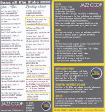 Jazz Coop Gigs 2020