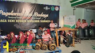 Pagelaran Seni-Budaya Lesbumi Sambut HSN 2019