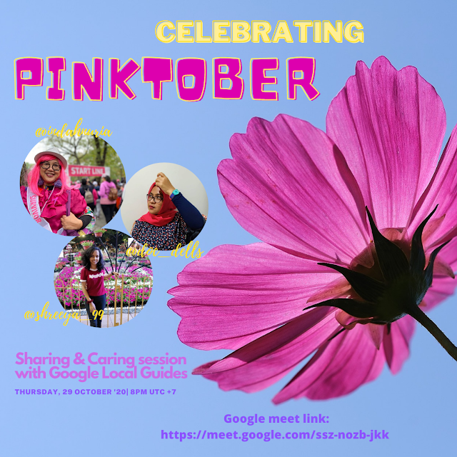 celebrating Pinktober with Google Local Guides