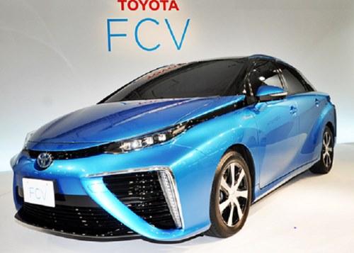 Toyota Mirai FCV Design