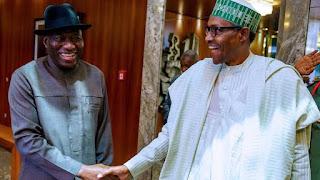 President Buhari Names Railway Station After Goodluck Jonathan