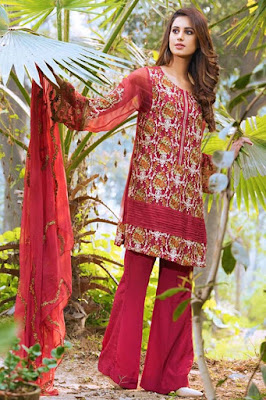 motifz summer embroidered chiffon suits 2017