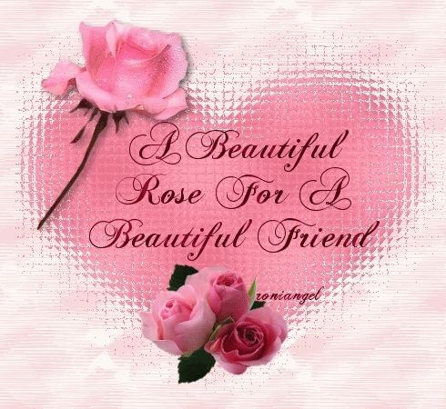 Photo Gallery: beautiful roses with friendship quotes
